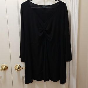 George black blouse sz 3X (22-24W)